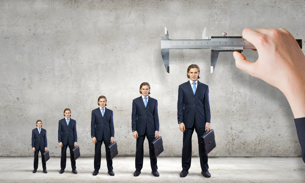 Size Matters! Körpergröße entscheidet über beruflichen Erfolg.