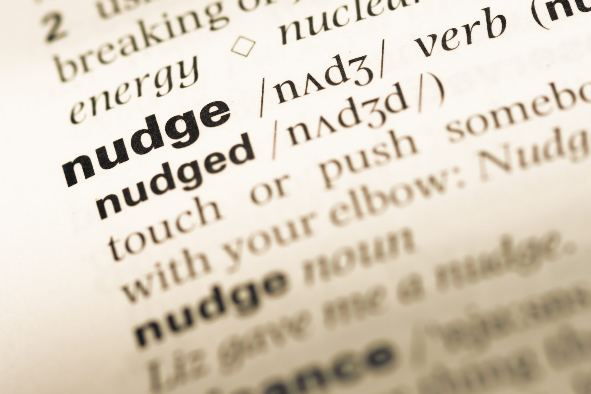 Nudging – Definition